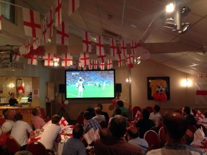 World Cup 2014 - Providing Projector and Sound System
